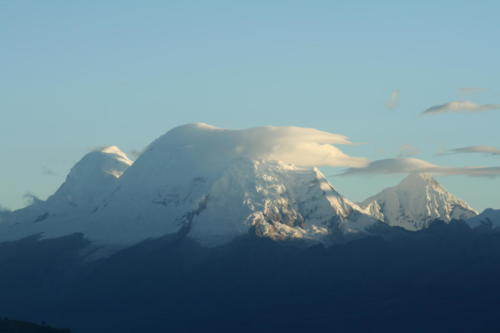 Cordillera blanca- Pérou