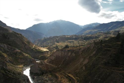 Valle de colca- Pérou